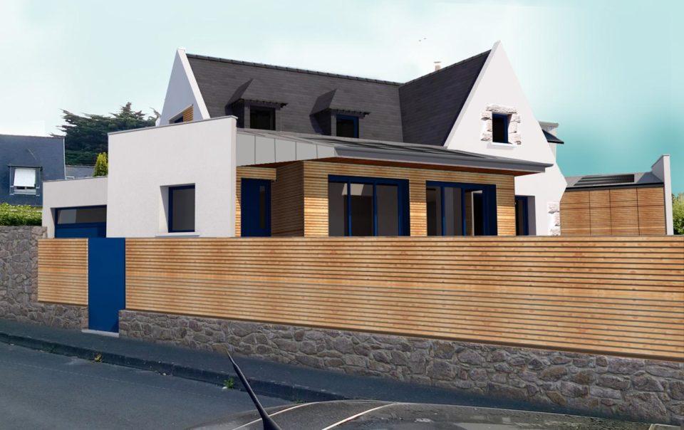 Maison F-D (St Malo - en cours)